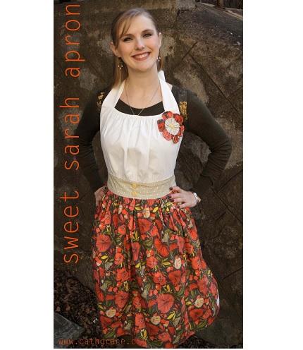 Free pattern: Sweet Sarah apron