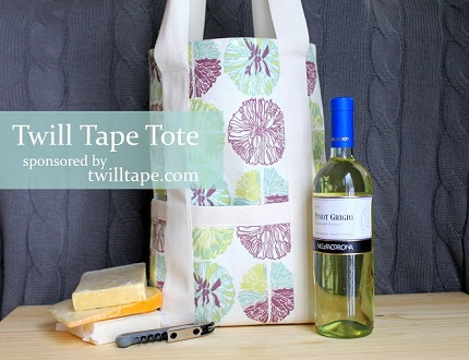 Tutorial: Twill tape tote bag