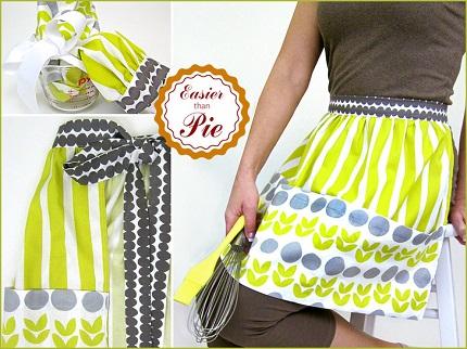 Tutorial: Half apron with jumbo pockets