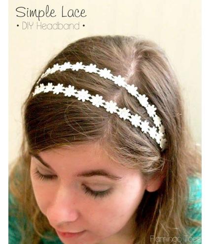 DIY-simple-lace-headband