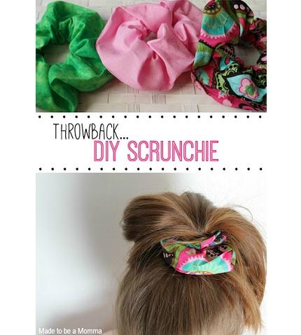 Tutorial: How to make a scrunchie