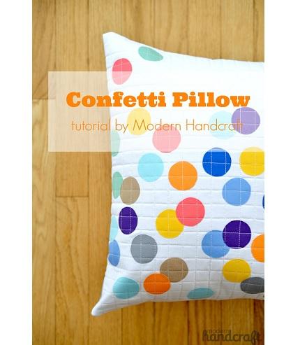Tutorial: Confetti Pillow