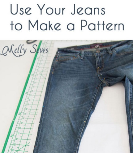 Tutorial: How to copy a favorite pair of jeans