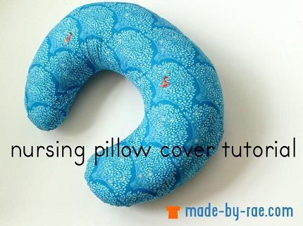Tutorial: Nursing pillow cover