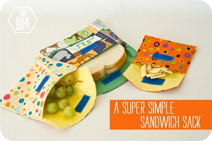 Tutorial: Super simple reusable snack bags
