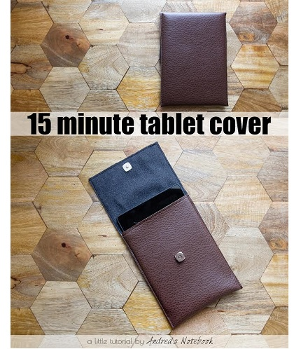 Tutorial: 15-minute tablet cover
