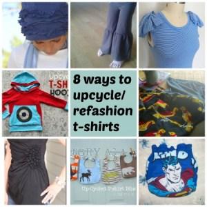 upcycle t shirts