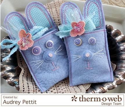 Tutorial: Easter bunny treat pockets