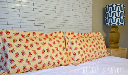 Tutorial: Flanged pillow sham