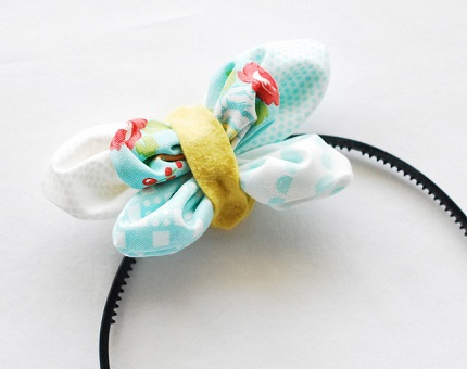 Tutorial: Kanzashi butterfly headband