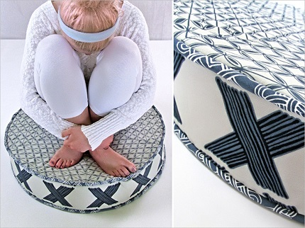 Tutorial: Big Round Floor Cushion – Sewing