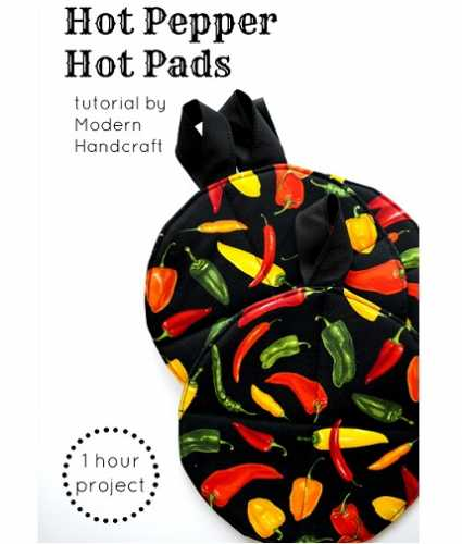 Tutorial: Quick and easy hot pads