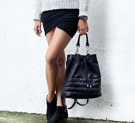 Tutorial: No-sew wrap mini skirt