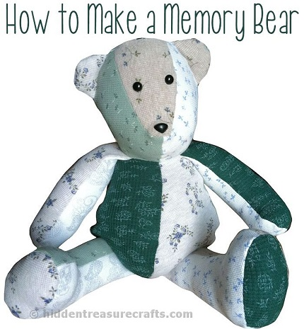Inspiration: Make a memory bear to honor a loved one