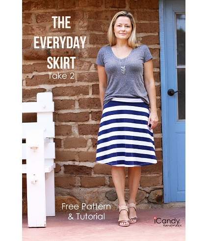 Free pattern: Everyday Skirt, Take 2