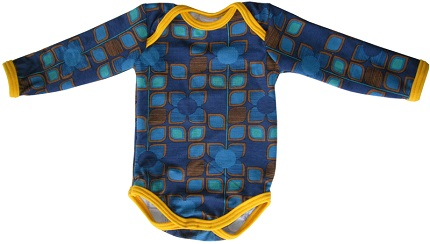Free pattern: Baby onesie