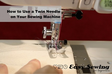 Video tutorial: How to use a twin needle