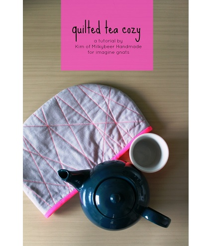 Tutorial: Modern quilted tea cozy