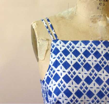 Tutorial: How to make rouleau or spaghetti straps