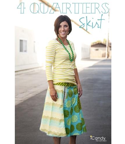 Tutorial: 4 Quarters Skirt