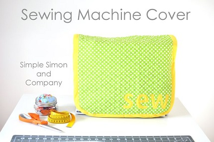 Tutorial: 15 minute sewing machine cover