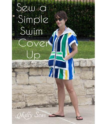 Tutorial: Terry cloth swim cover up