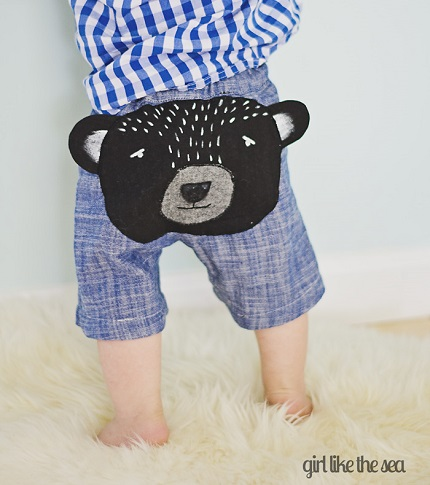 Tutorial: Bear Butt Baby Shorts