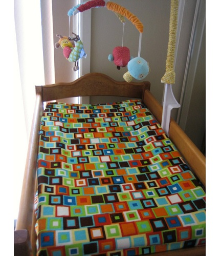 Tutorial: Baby changing mat cover