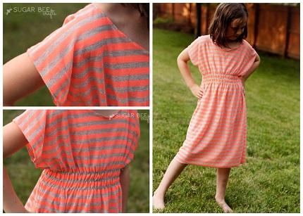 Tutorial: Super Simple Dolman Dress