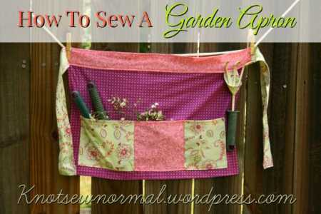 Tutorial: Gardening apron