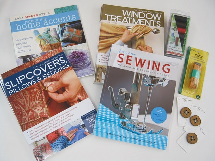 4 sewing book giveaway at Craftside