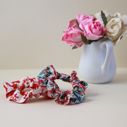 Tutorial: How to sew hair scrunchies