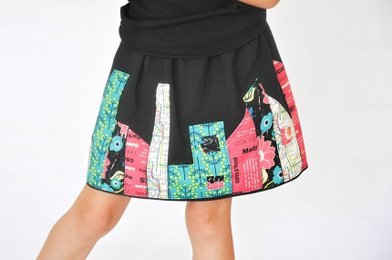 Tutorial: Little girl's Skyline Skirt