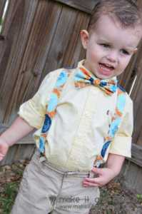 suspenders and tie pattern