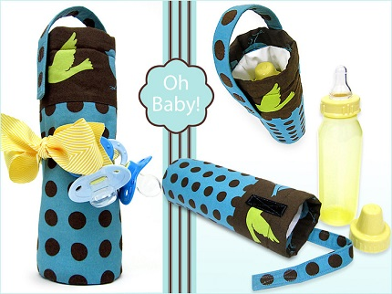 Tutorial: Insulated baby bottle carrier