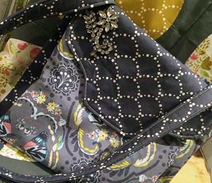 Free pattern: Anna Cross Body Bag