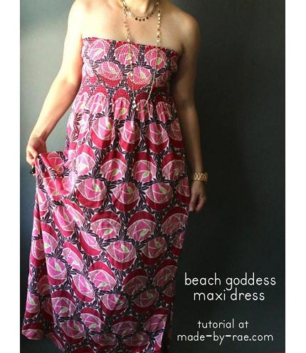 Tutorial: Beach Goddess Maxi