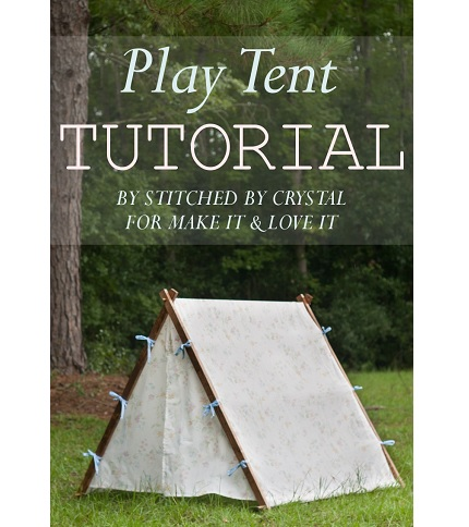 Tutorial: Collapsible play tent