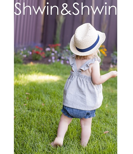 Free pattern: Toddler's ruffle strap summer tunic top