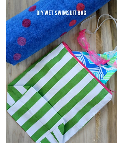 Tutorial: Wet swimsuit bag