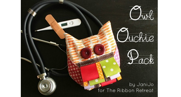 Free pattern: Owl Ouchie Pack