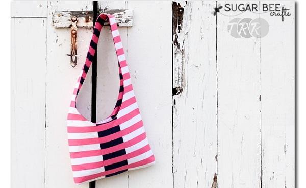 Tutorial: Reversible sling bag