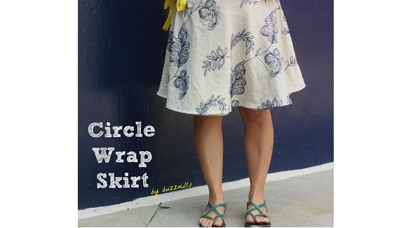Tutorial: Circle wrap skirt