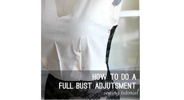 Tutorial: Full bust adjustment