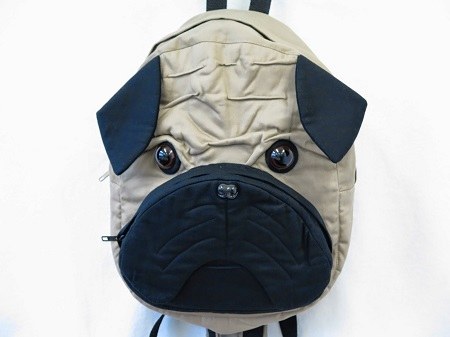 Sewing inspiration: Pug backpack
