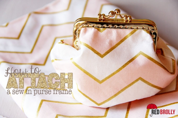 Tutorial: How to attach a sew-in purse frame