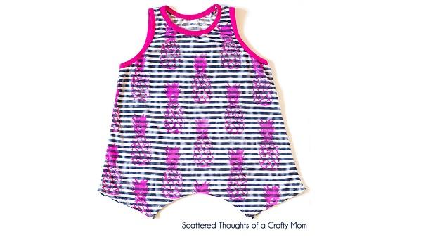 Free pattern: Girls swing tank top