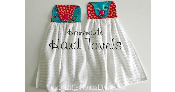 Tutorial: Hanging hand towel