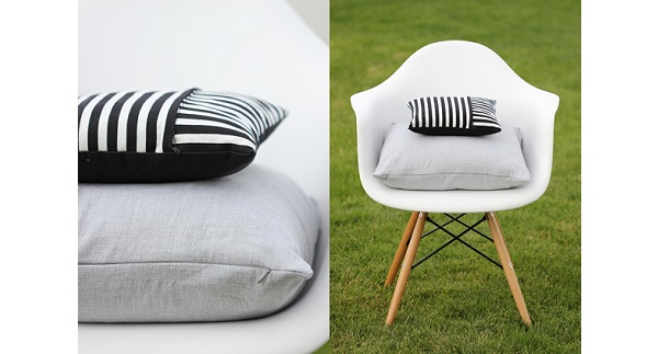 Tutorial Zippered Pillow Covers 2 Ways Sewing