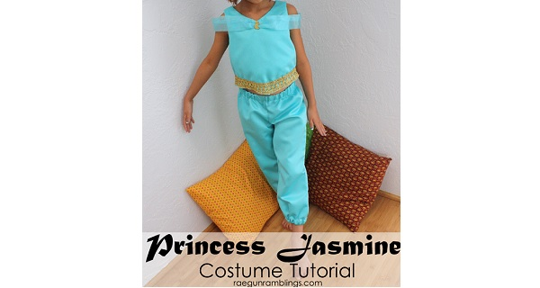 Tutorial: Princess Jasmine costume